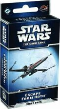 STAR WARS LCG ESCAPE FROM HOTH EXPANSION NEW FACTORY SEALED