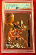 Michael Jordan 1993 Upper Deck SE Behind The Glass PSA 9 MINT Bulls! HOF!