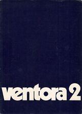 Vauxhall Ventora II FD 3300 1970-71 UK Market Sales Brochure Victor