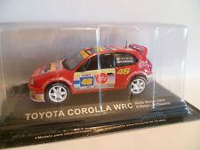 TOYOTA COROLLA WRC : RALLYE DE MONZA de 2004  ~  NEUF