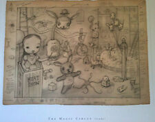 Mark Ryden Print Microportfolio 3 The Magic Circus Study -  8x10