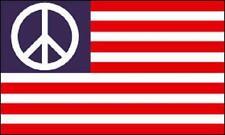 Fahne Flagge USA mit Peace 90 x 150 cm