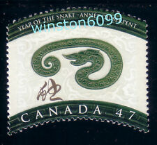 [W] Canada 2001 Year of the Snake 1v Stamp Mint NH