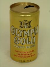 1970s Olympia Gold Beer GOLD COLOR States Listed (WA and MN) 1+ Tavern Trove