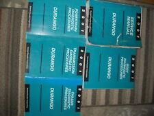 2001 DODGE DURANGO TRUCK Service Repair Shop Workshop Manual Set OEM W Diagnosti
