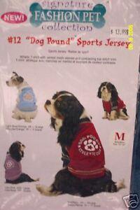 Dog Shirt Dog Pound Sports Jersey Small Lt Blue New Signature Fashion Pet