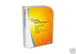 Microsoft Office 2007 SBE Vollversion - Retail in Box