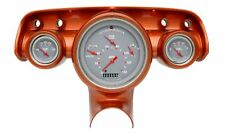 1957 chevy bel air classic instruments gauge cluster gray face ch01gslf flat gla