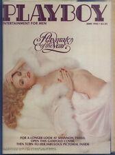 PLAYBOY US 6/1982 Juni / June - Playmate Shannon Tweed + Sugar Ray Leonard