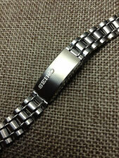 11mm SEIKO ORIGINAL REPLACEMENT STAINLESS STEEL SILVER WOMEN BRACELET WATCH BAND