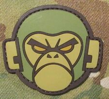 ANGRY MONKEY PVC FACE LOGO TACTICAL COMBAT MILSPEC MORALE MULTICAM HOOK PATCH