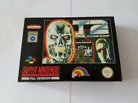 T2 The Arcade Game [Terminator] - Super Nintendo SNES Game [PAL UKV] CIB