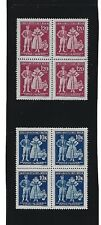 MNH Stamp block set / 5th anniversary German Occupation / B a M Costumes / 1944