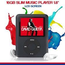 SAVFY Slim 3mm 8gb Mp4 Music Media Video Player
