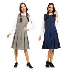 Vêtements habillés bleus coton mélangé pour fille de 2 à 16 ans