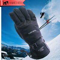 Beheizte Winterhandschuhe Beheizbar Ski Handschuh Warm Wasserdicht Handschuhe XL