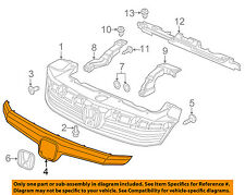 HONDA OEM 2012 Civic Grille Grill-Molding Trim or Surround 71122TR0A01