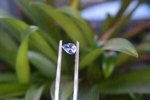 A top 0.85ct Ceylon Blue Sapphire, Natural.