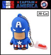 1 Clé USB 2.0 NEUVE 30Go ( USB Flash Drive 30Gb ) - Captain America Marvel