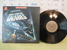 Music from the Galaxies, Soundtrack,Ettore Stratta,CBS Audiophile DAL 35878,1980