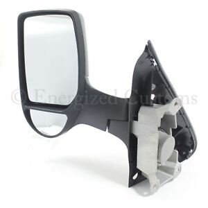 Ford Transit Van Mk6 2000-2006 Manual Short Arm Wing Door Mirror Passenger Side