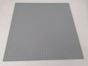 Lego Platte, Grundplatte 48x48 in grau