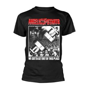 Angelic Upstarts - WE GOTTA GET OUT OF THIS PLACE - NEW Official T-Shirt : Punk
