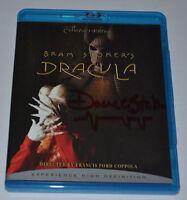 1/1 BRAM STOKER'S DRACULA  Blu-Ray DVD Autograph Signed by  STOKER Very Rare!