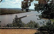 Fire Point Effigy Mounds National Monument McGregor Marquette Iowa Postcard