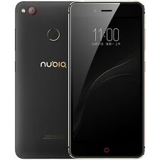 Original Nubia Z11 Mini S 4GB RAM 64GB Fingerprint ID 23.0MP 1080P Black Phone