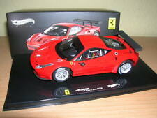 Hot Wheels Ferrari 458 Italia GT2 / GT 2 presentatin ROJO 1:43 Lim. 5000 Stück