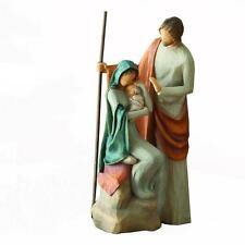 "Demdaco Willow Tree 7.5"" Christmas Holy Family Collection Nativity Child Born"