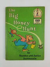 Vintage 1962 Stanley & Janice Berenstain The Big Honey Hunt Dr. Seuss Book