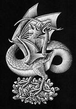 Escher # 03 cm 35x50 Poster Stampa Grafica Printing Digital Fine Art papiarte