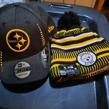 Pittsburgh Steelers Cap Heinz Field & Hat sideline New With Tags
