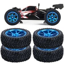 4pcs RC Alloy Wheel Rally Tire Tyre Mount for WL 1/18 A959 A979 A969 Car Kits