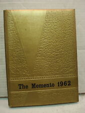 The  Memento,  1962   New Oxford  High School Year Book, New Oxford, Pa.