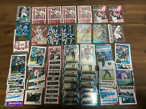 Investor Lot of (61) 2017-2020 Christian McCaffrey NFL Cards Rookies Inserts +