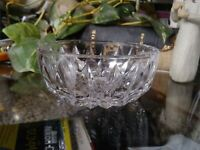 VINTAGE Gorham Lady Anne Full Lead Crystal Bowl Small made in germany