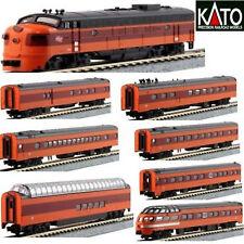 KATO 106082 + 1762301 N MILWAUKEE Olympian Hiawatha 1 Locomotive #95C & 9 Cars