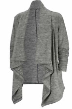 Nike Grey Marl Yoga Collection Long Sleeve Cardigan Ladies UK Size XS *Ref70
