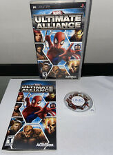 Marvel Ultimate Alliance PSP Complete