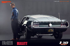 1:18 Steve McQueen Bullitt NO CAR !!! figurine for 1:18 Autoart Ford Mustang