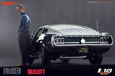 1/18 Steve McQueen Bullitt VERY RARE!!! figurine for 1:18 Autoart Ford Mustang