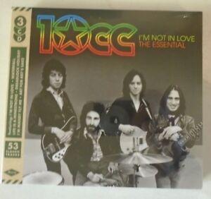 10CC ~ Im Not In Love The Essential ~ 3 x CD ALBUM - SEALED