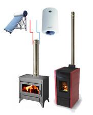 Hai una stufa a pellet ad aria o termocamino? IDROFLUE per produrre acqua calda