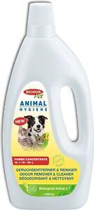 Biodor Pet 1 Liter Animal Hygiene Geruchsentferner & Reiniger | Power Konzentrat