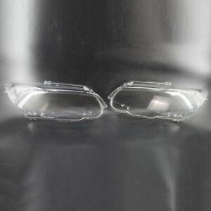 2pcs Headlight Headlamp Lens Cover Shell Fit for BMW 3 Series E92 E93 2006-08/09