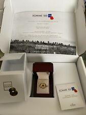 More details for somme 100 commemorative poppy badge in presentation box