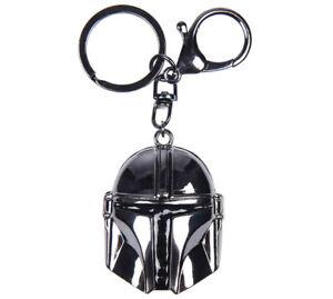 Star Wars Mandalorian Helmet Metal Key Chain 3D Official Licensed Product